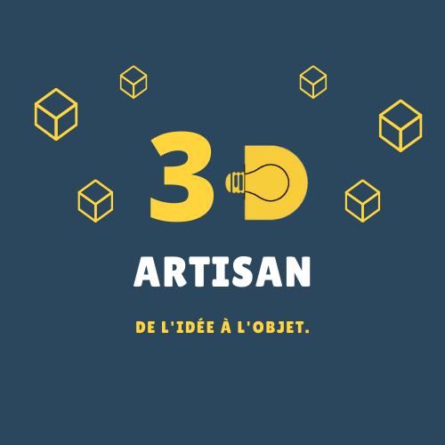Artisan 3D / Service d'impression conception 3d Abbeville
