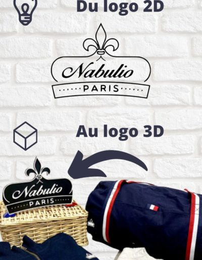 Création d'un logo 3D